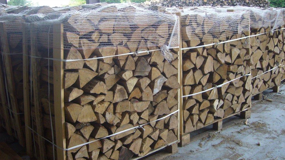 vente et livraison palette bois de chauffage de 40 cm lamurienne bois. Black Bedroom Furniture Sets. Home Design Ideas